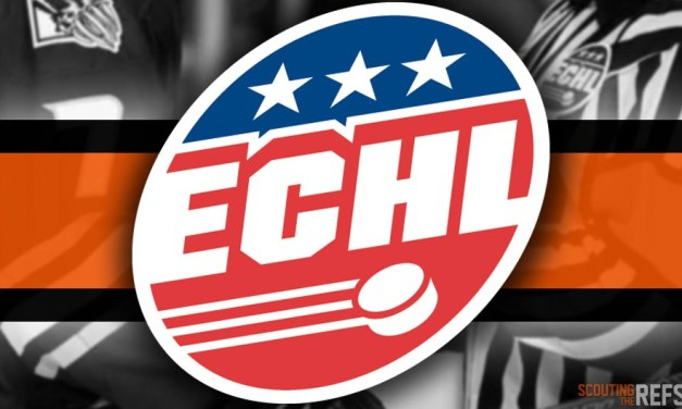 Tonight's ECHL Referees and Linesmen – 11/13/18