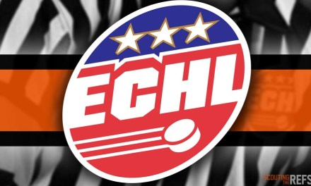 Tonight's ECHL Referees and Linesmen – 10/12/18