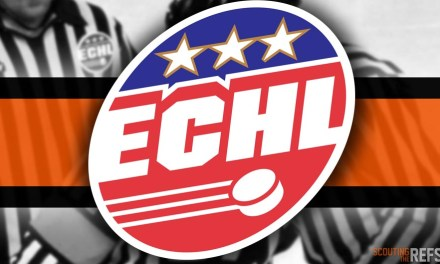 Tonight's ECHL Referees and Linesmen – 10/16/19
