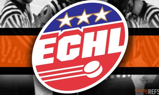 Tonight's ECHL Referees and Linesmen – 10/14/18