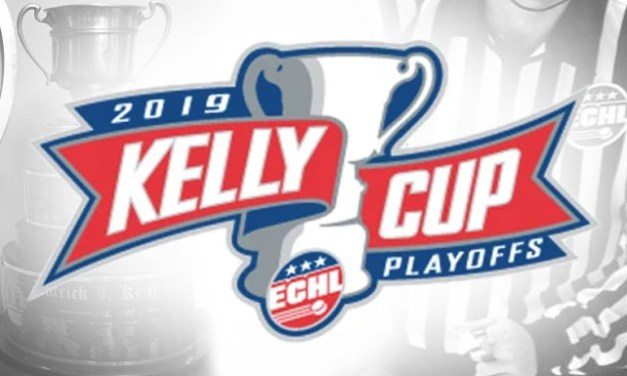 Tonight's ECHL Kelly Cup Playoff Referees and Linesmen – 4/19/19