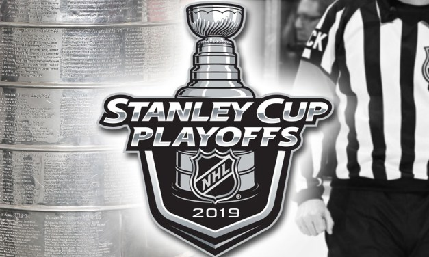 Tonight's NHL Stanley Cup Playoff Referees and Linesmen – 4/12/19
