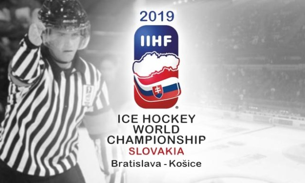 Today's IIHF World Championship Referees and Linesmen – 5/17/19