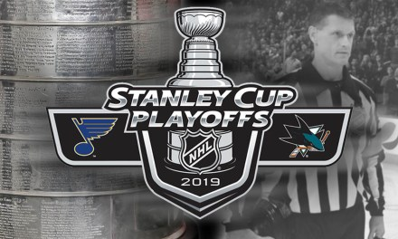Tonight's NHL Stanley Cup Playoff Referees and Linesmen – 5/19/19
