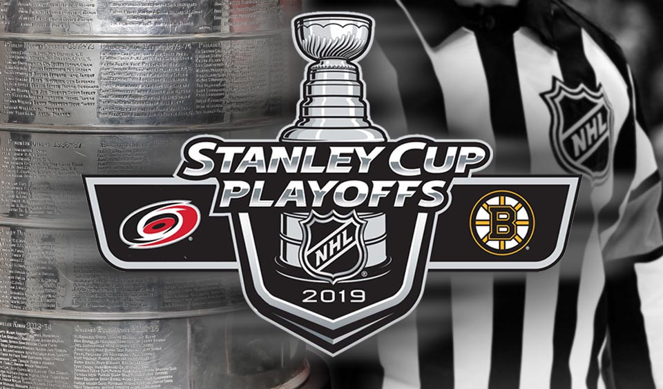 Tonight's NHL Stanley Cup Playoff Referees and Linesmen – 5/9/19