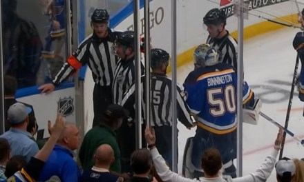 Report: Refs Joannette, O'Rourke Ousted From Playoffs