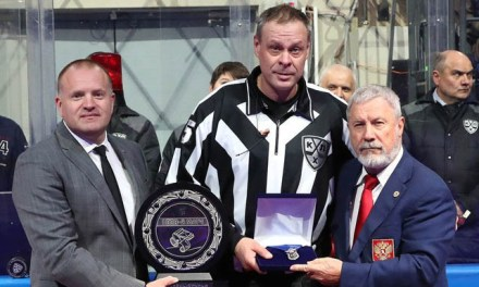 KHL's Shelyanin is First Russian Linesman to Work 1000 Games