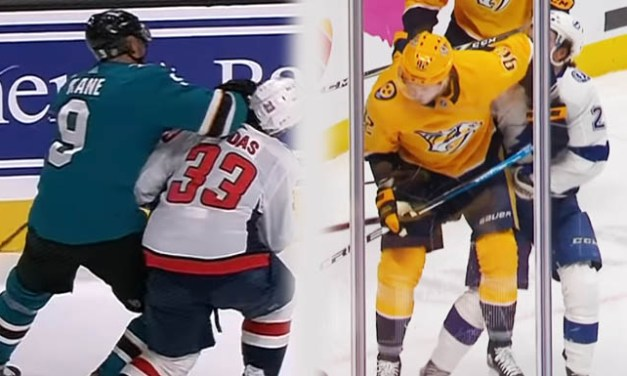 Sharks' Kane, Preds' Johnson Both Fined $5000 for Elbowing