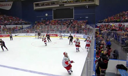 WJC: No Call on Canada After Puck Deflects Off Camera