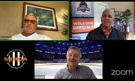 NHL Officiating Manager and Retired Ref Don Koharski on MIHOA Live