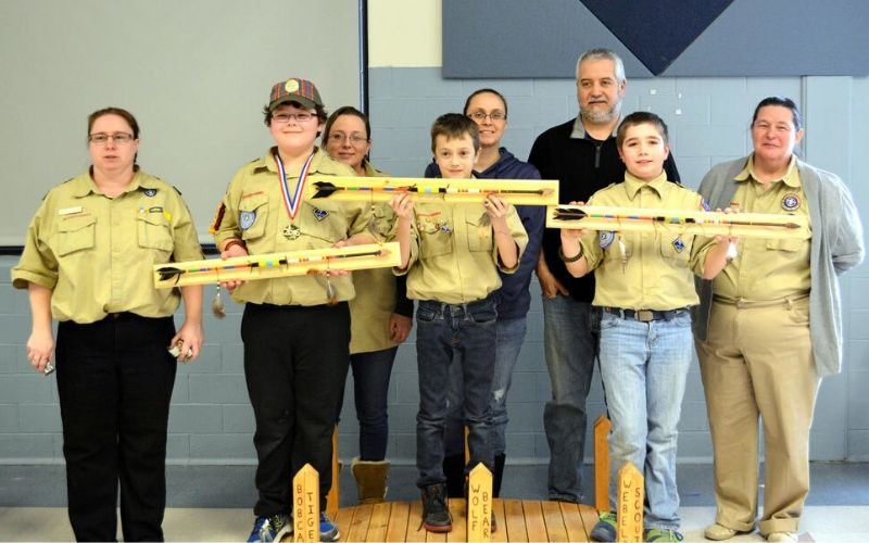 arrow of light ceremony for webelos scout