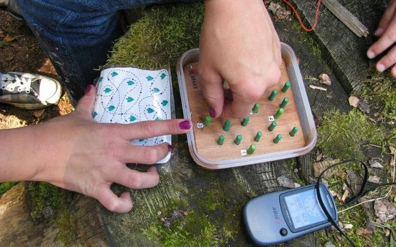 history of geocaching