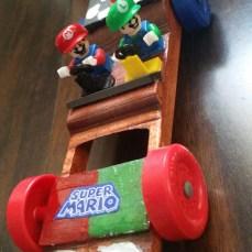 Mario and Luigi's racer