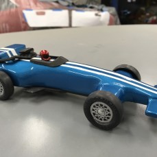 The Red Mobile, and Blue Indy