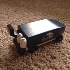 Zamboni/ Ice Resurfacer---Hockey Pinewood Derby Car