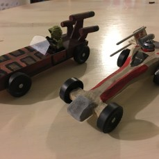 X-Fighter and Land Speeder