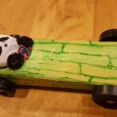 Panda racer