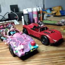 Vanellope's Schweetmobile and Shanks revenge