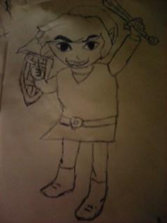 Toon Link From The Legend Of Zelda: Wind Waker