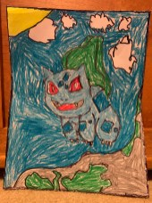 Bulbasaur in the Mountains
