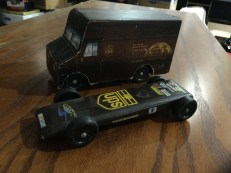 The UPS package car