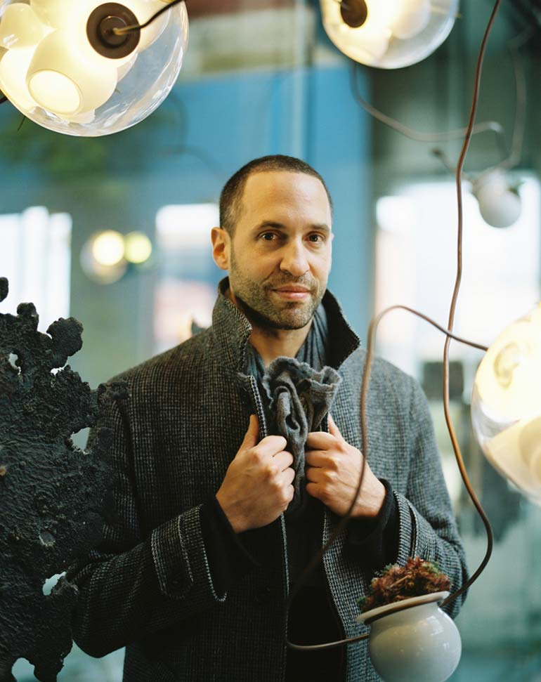 Top Omer Arbel Throughout 28280 By Omer Arbel At The Va Photo Susan Smart Ldf Top Ten Installations News Frameweb