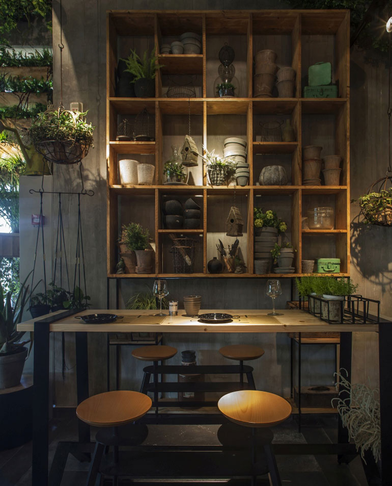 Kitchen Table Kitsilano: Dig This Israeli Eatery With Live Herbs Dressing Its Walls
