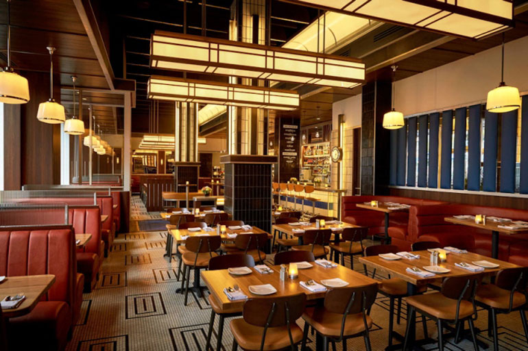 This Art-Deco American Brasserie For The Foot Of YVRs Old ...