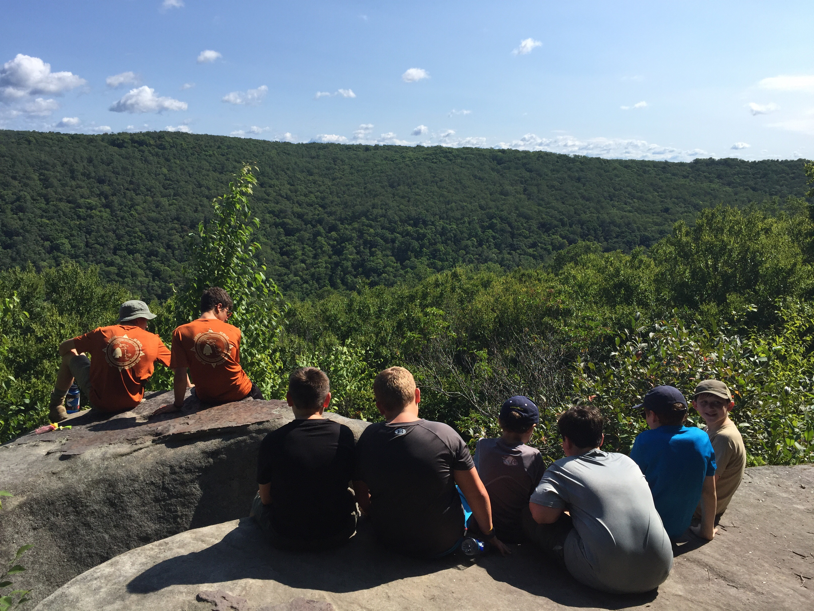 Stories From The Trail Backpacking Minister Creek Pa Scout Troop 155