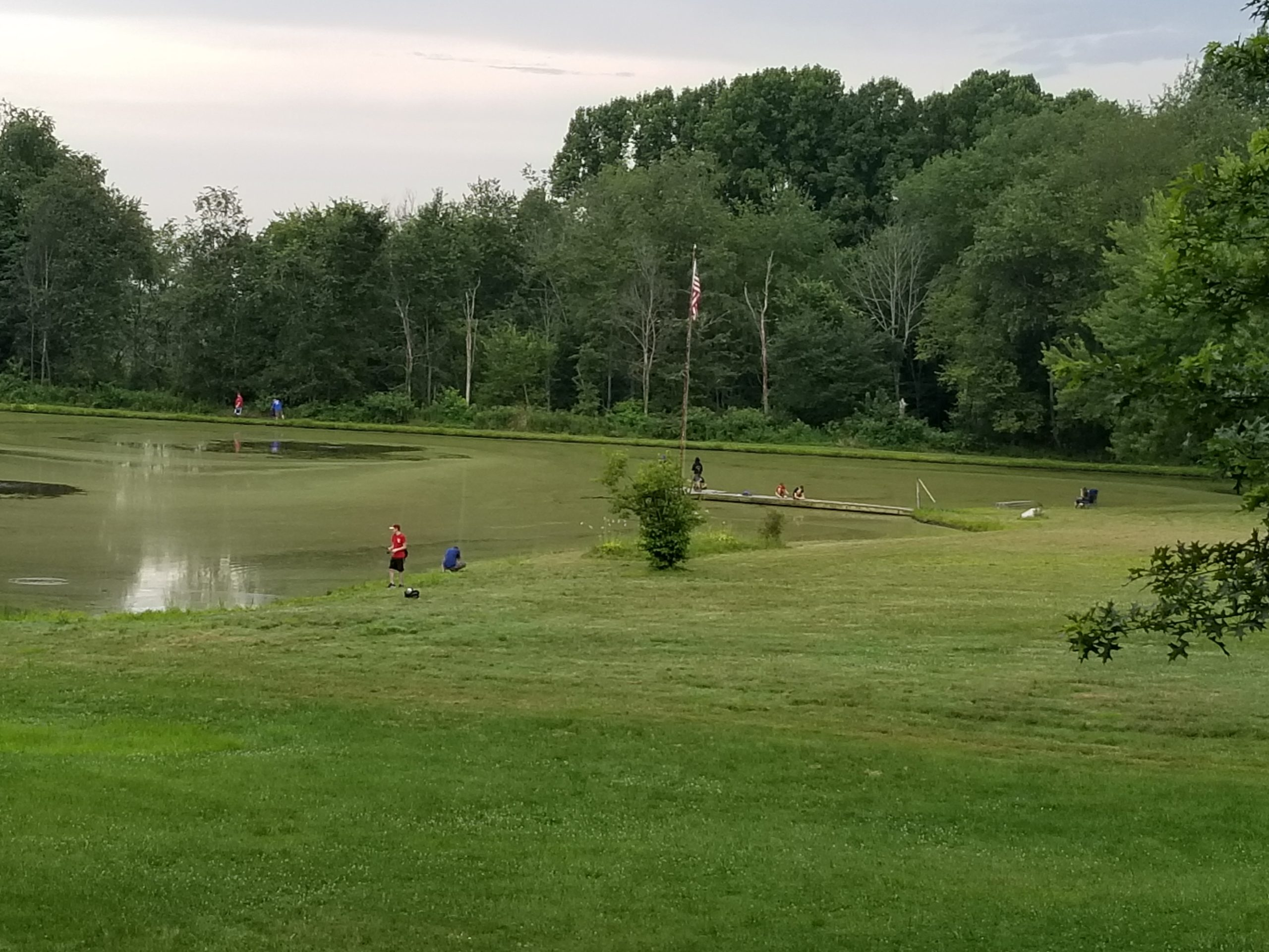 Fishing Campout Troop 155