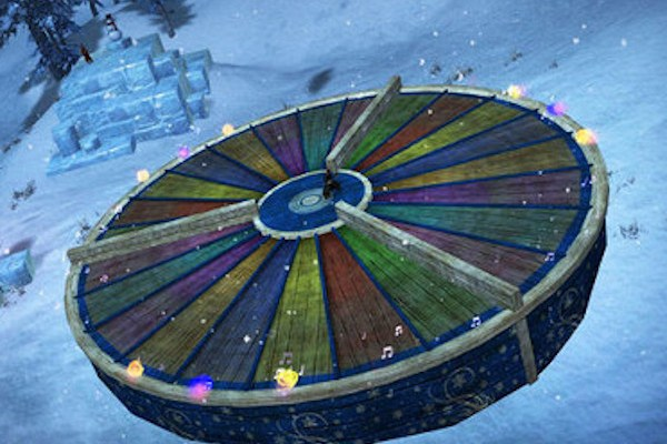 The Bell Choir arena for Guild Wars 2 Wintersday