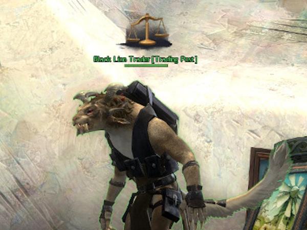 Guild Wars 2 Black Lion Trading Post agent