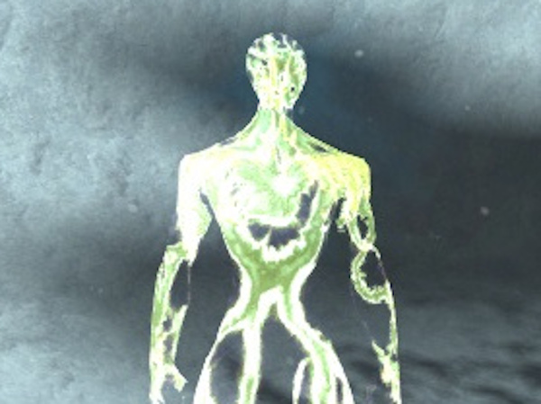 The Anomalous Vision sad glowing man in Guild Wars 2