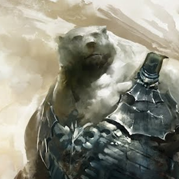 Kodan concept art Guild Wars 2 polar bear race