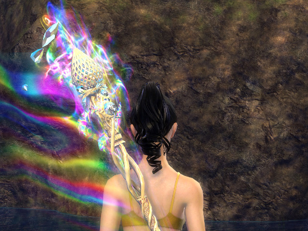 The Bifrost, a legendary Guild Wars 2 weapon