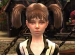 An orphan girl from the Guild Wars 2 Wintersday event