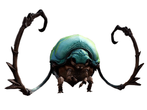 Concept art for the GW2 roller beetle mount