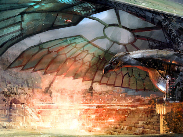 Loading screen for the Guild Wars 2 Queen's Pavilion during Festival of the Four Winds
