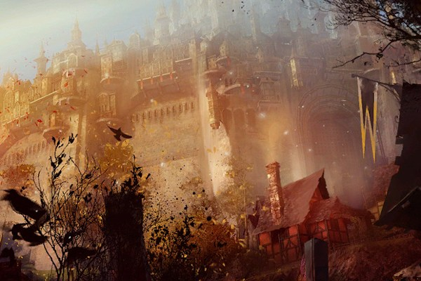 Queensdale loading screen Guild Wars 2
