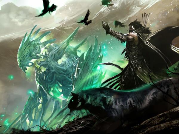 Guild Wars 2 Ranger concept art