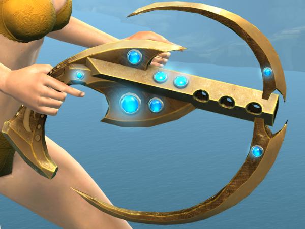 Guild Wars 2 Tengu Echo weapons