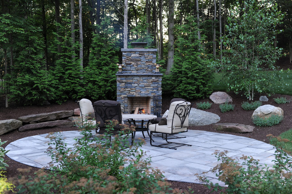 Outdoor Fire Place, Patio, Design, Scovills Landscape, Landscape Design,  Landscaping,