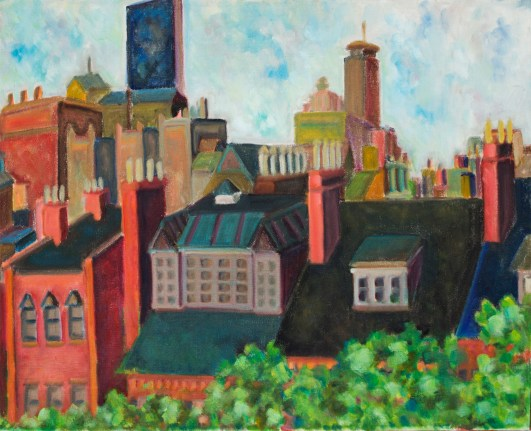 Beacon Hill Rooftops