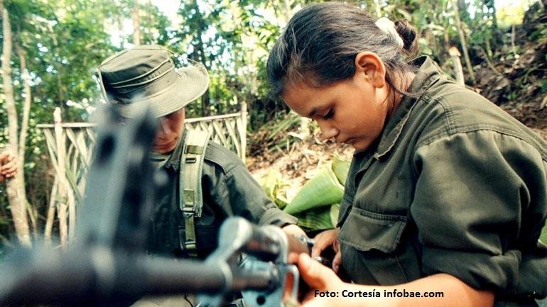 Resultado de imagen para Los niños reclutados por guerrilleros