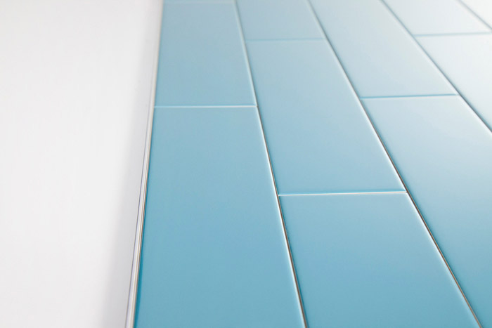 Using Schluter Trim Profiles with Subway Tile - South