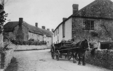 Bag delivery to what is now Pilgrim Cottage