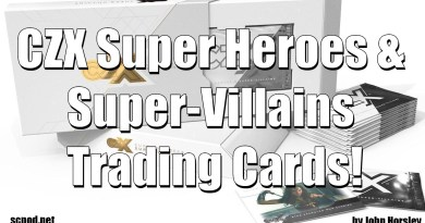 Cryptozoic: CZX Super Heroes & Super-Villains Trading Cards!