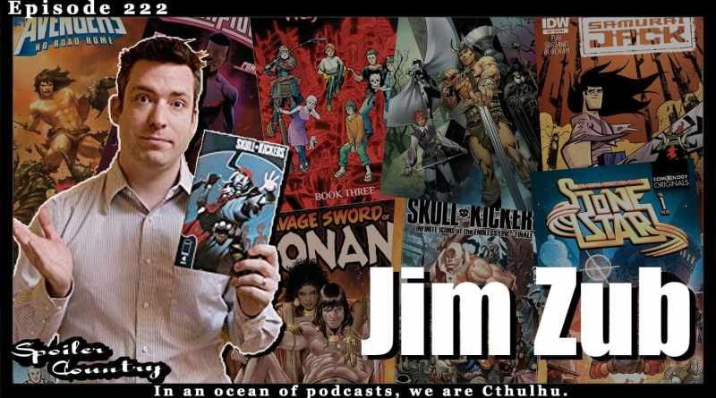 Jim Zub – Conan, Glitterbombs, and Wakanda