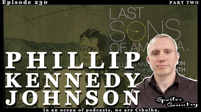 Phillip Kennedy Johnson talk The Last Sons of America!