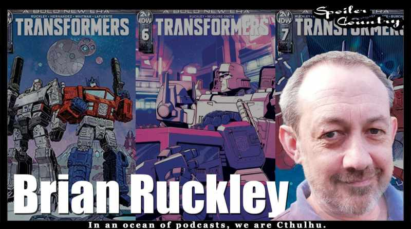 Brian Ruckley talks IDW's Transformers!